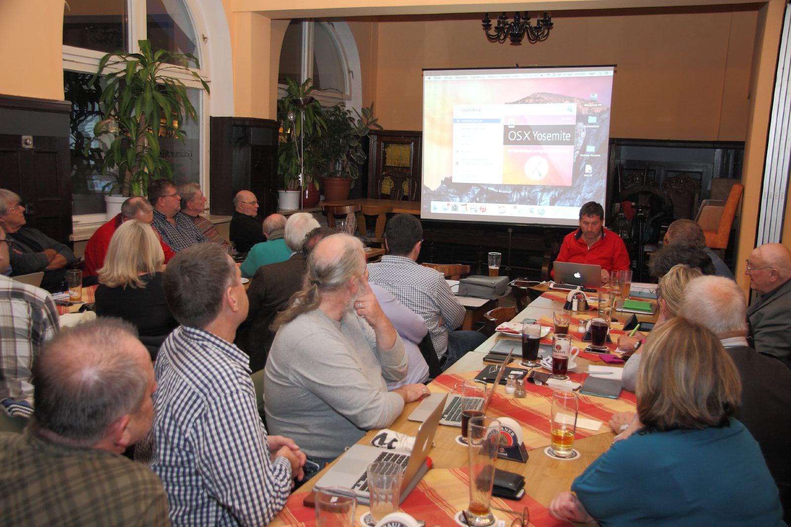 110. Treffen OSX 10.10 Yosemite mit Anton Ochsenkühn