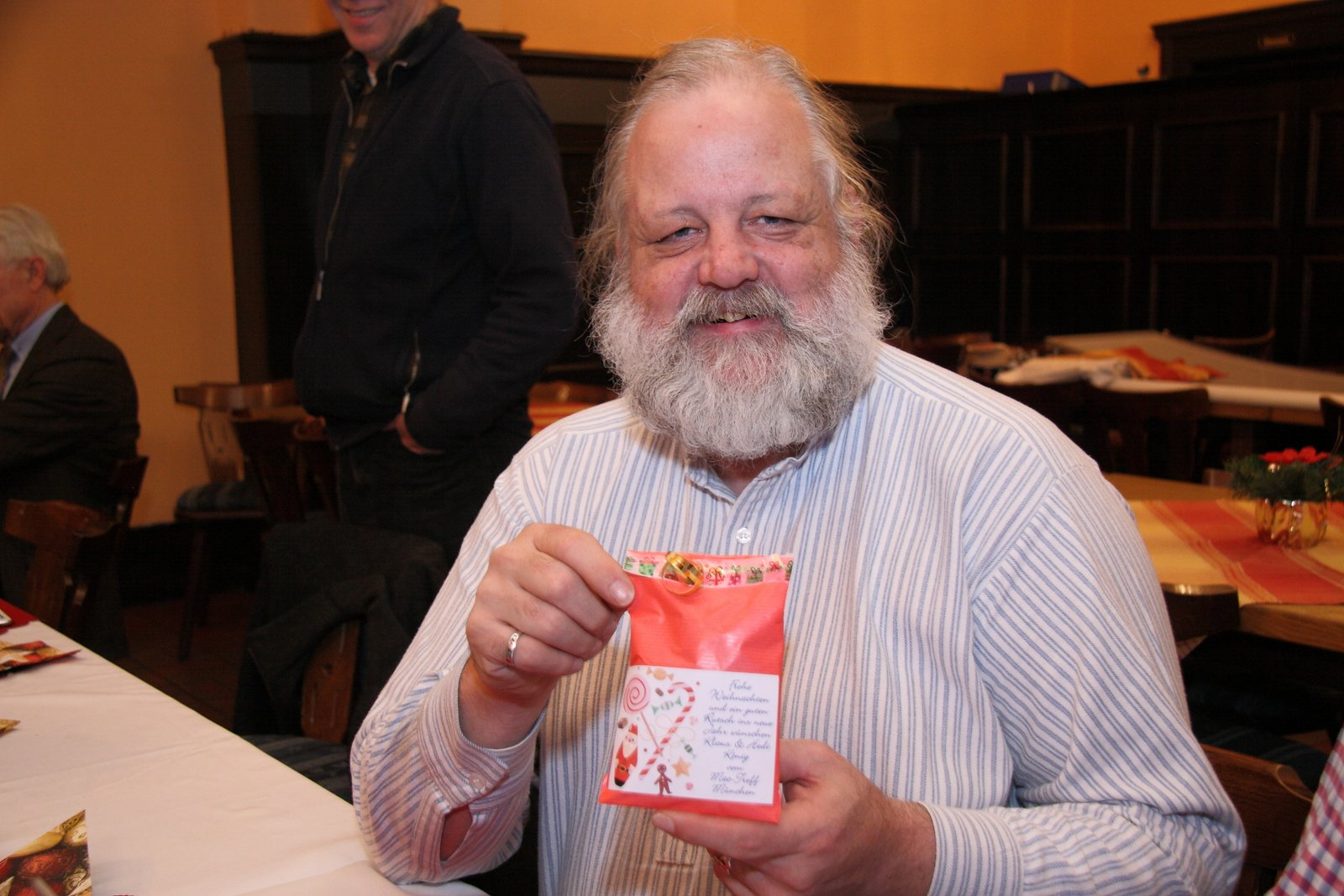111. Treffen mit kleiner Weihnachtsüberraschung für jeden Teilnehmer