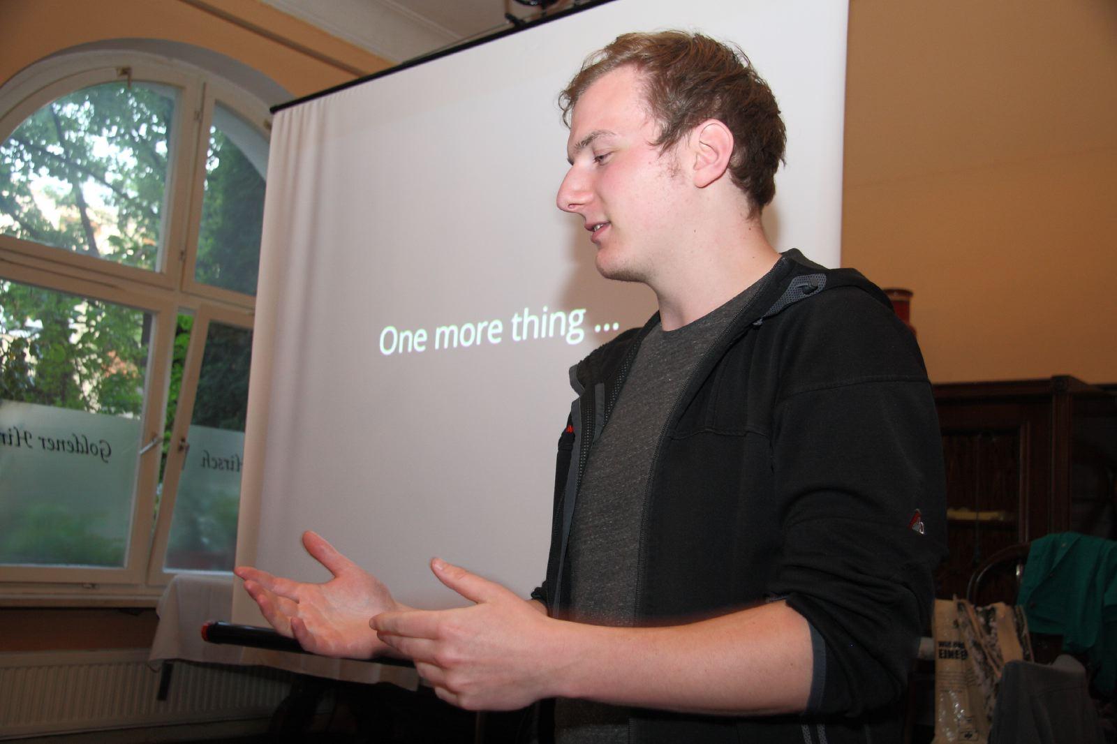 116. Treffen: ownCloud mit Jan-Christoph Borchardt und Steffen Lindner